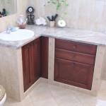 Beépített fürdőszoba